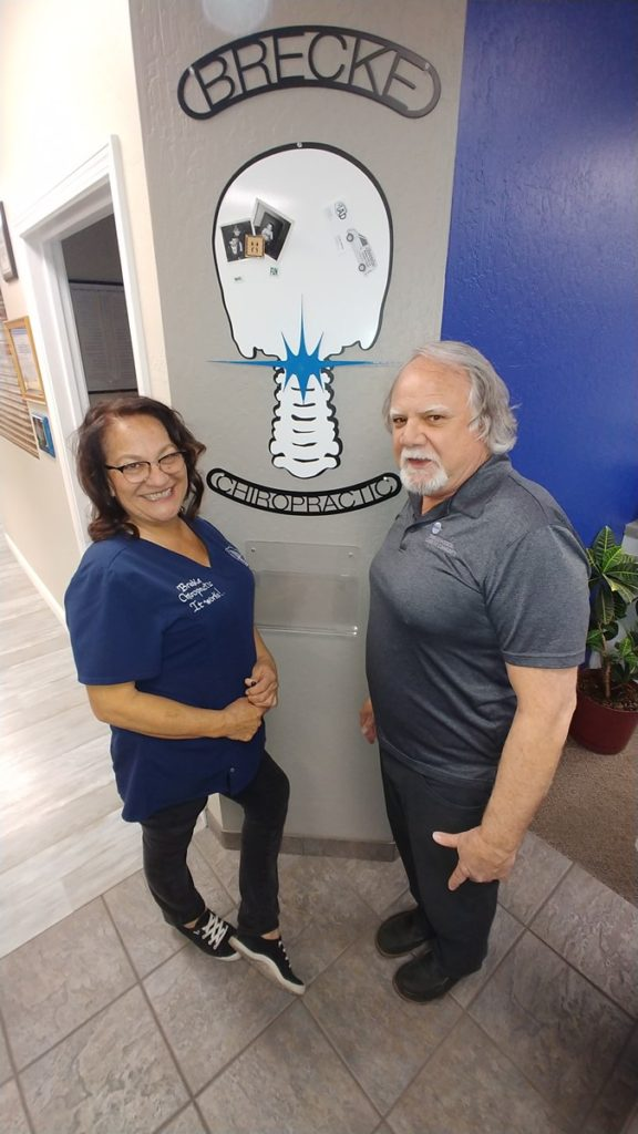 Jules and Dr. Reid Brecke, Brecke Chiropractic Center