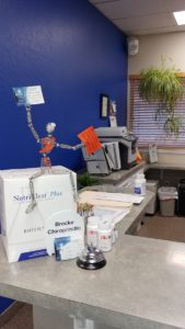 front desk at Brecke Chiropractic Center